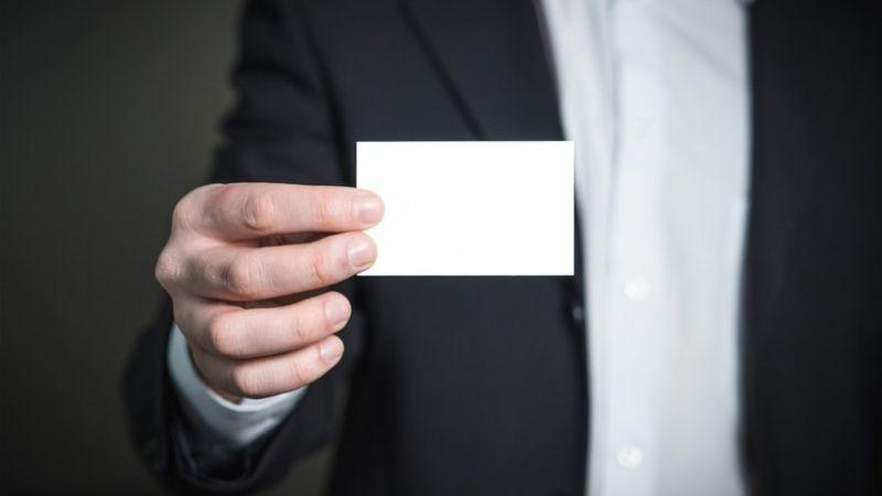 como hacer tarjetas de visita
